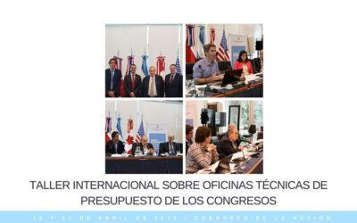 Taller Internacional sobre Oficinas Técnicas