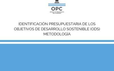 Identificación Presupuestaria de los Objetivos de Desarrollo Sostenible (ODS) – Metodología