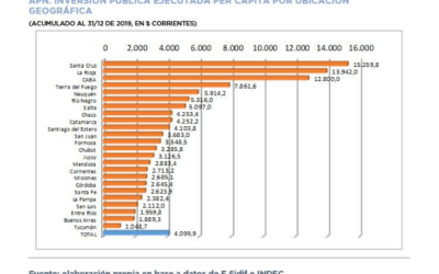 ANÁLISIS DE LA EJECUCIÓN PRESUPUESTARIA DE LA INVERSIÓN PÚBLICA NACIONAL – AÑO 2019
