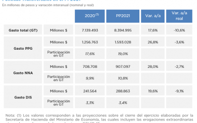 POLÍTICAS TRANSVERSALES EN EL PRESUPUESTO 2021